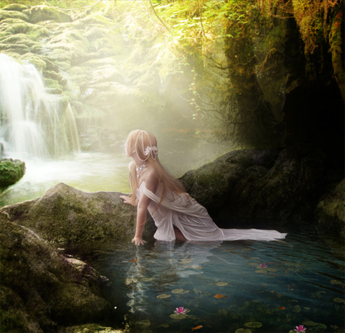 How to Create an Outdoor Fantasy Manipulation in Photoshop