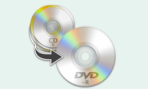 CDs to DVD