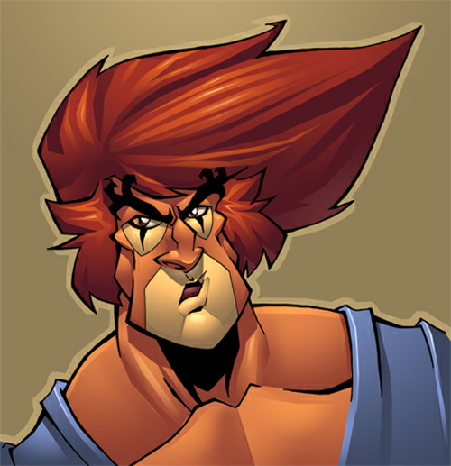 Sams lion-o colored
