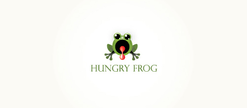 Hungry Frog logo