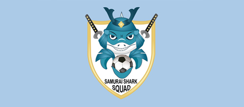 Samurai Shark Squad FC logo