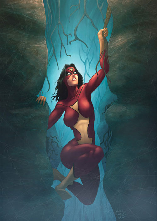 spiderwoman commision