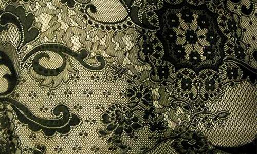 Texture-Black Lace