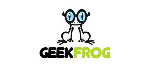 geek frog logo