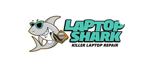 Laptop Shark Logo