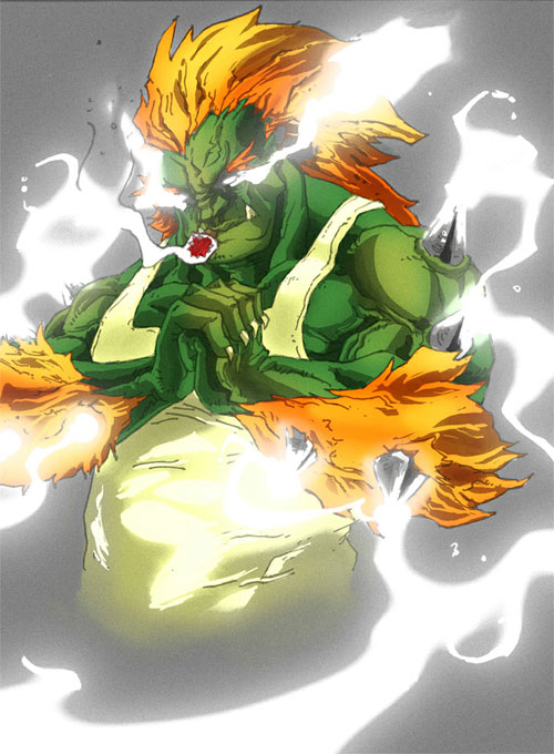 Ultimate Blanka colors