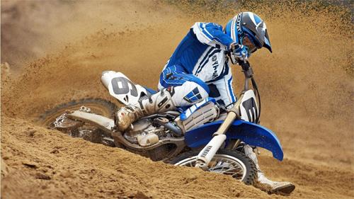 Yamaha Motorcross Racer Wallpaper