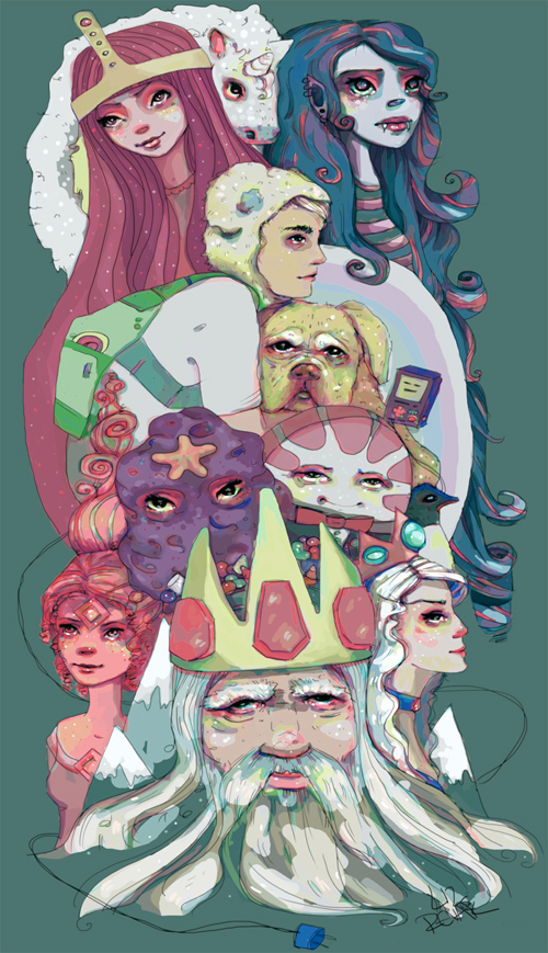 Adventure Time illustration