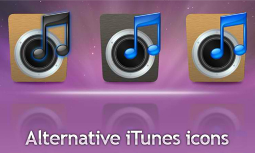 Alternative iTunes icons