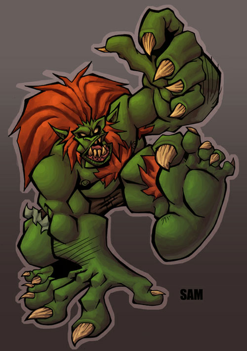 Sams blanka colored by me