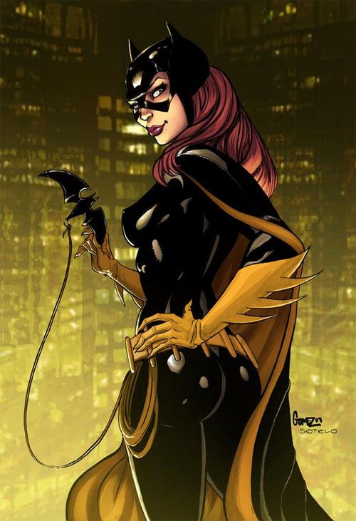 Batgirl solo print colors
