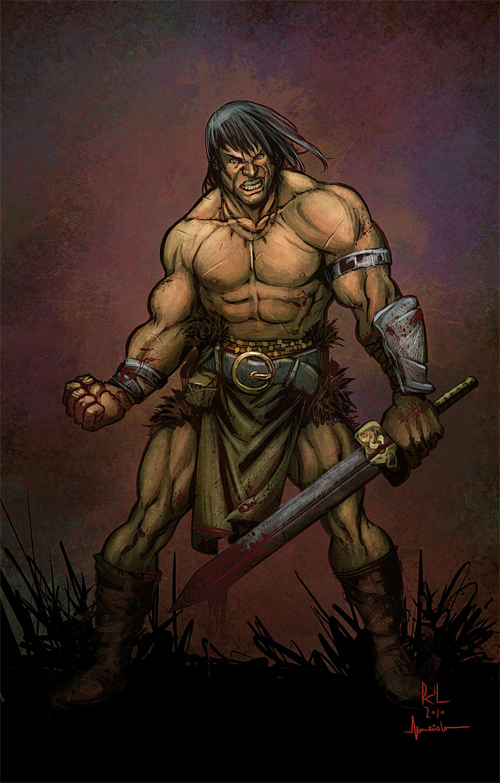 Conan Colors by Maiolo
