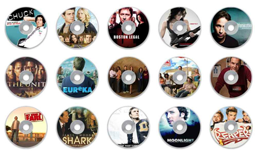 more tv series cd icons