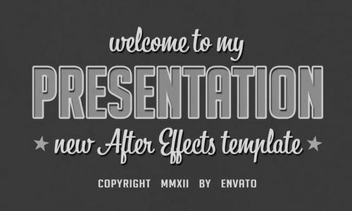Old presentation