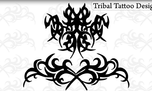Tribal Tattoo Designs Brushes