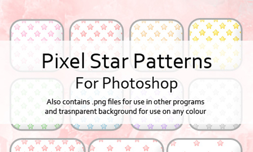 Pixel Star Patterns for PS
