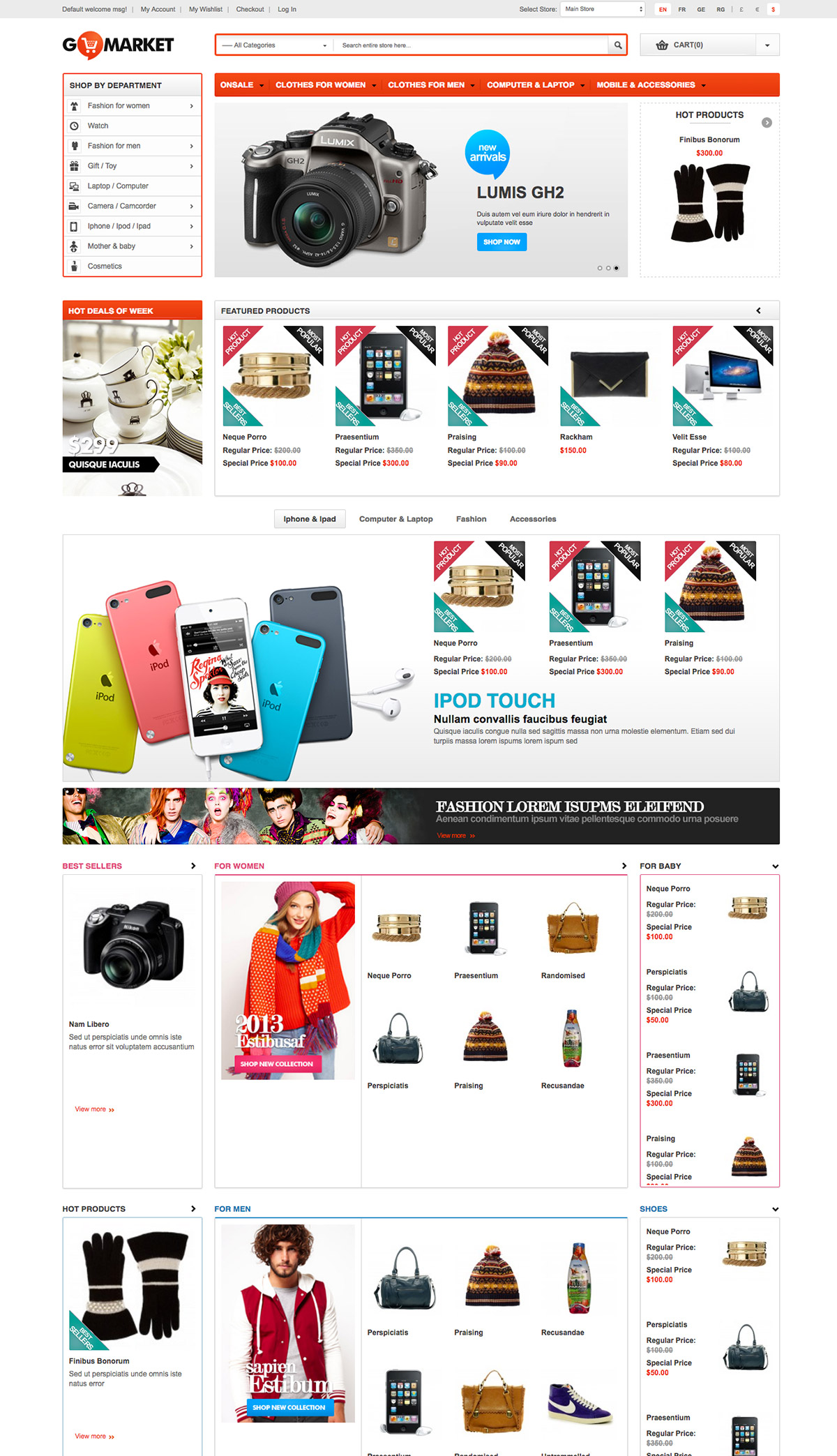 supermarket online shop