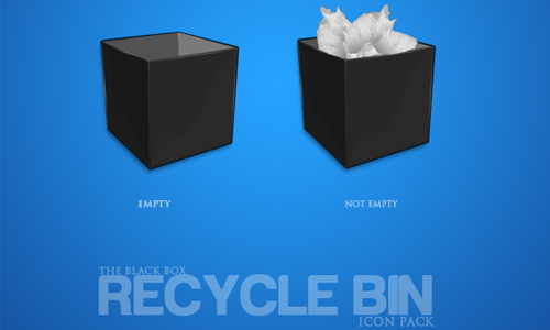 Box Style Recycle Bin