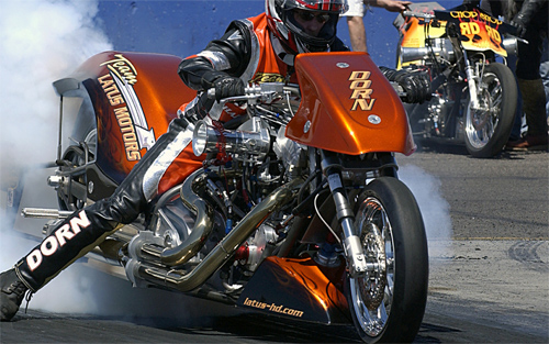 Drag motorcycle