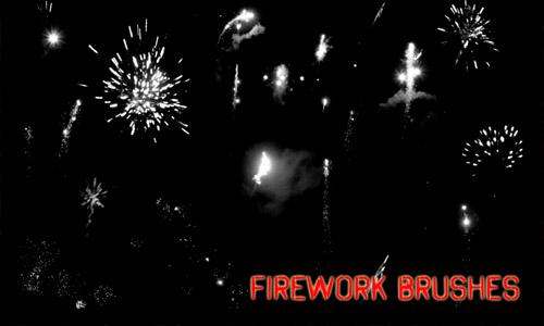 firework photoshop brushes