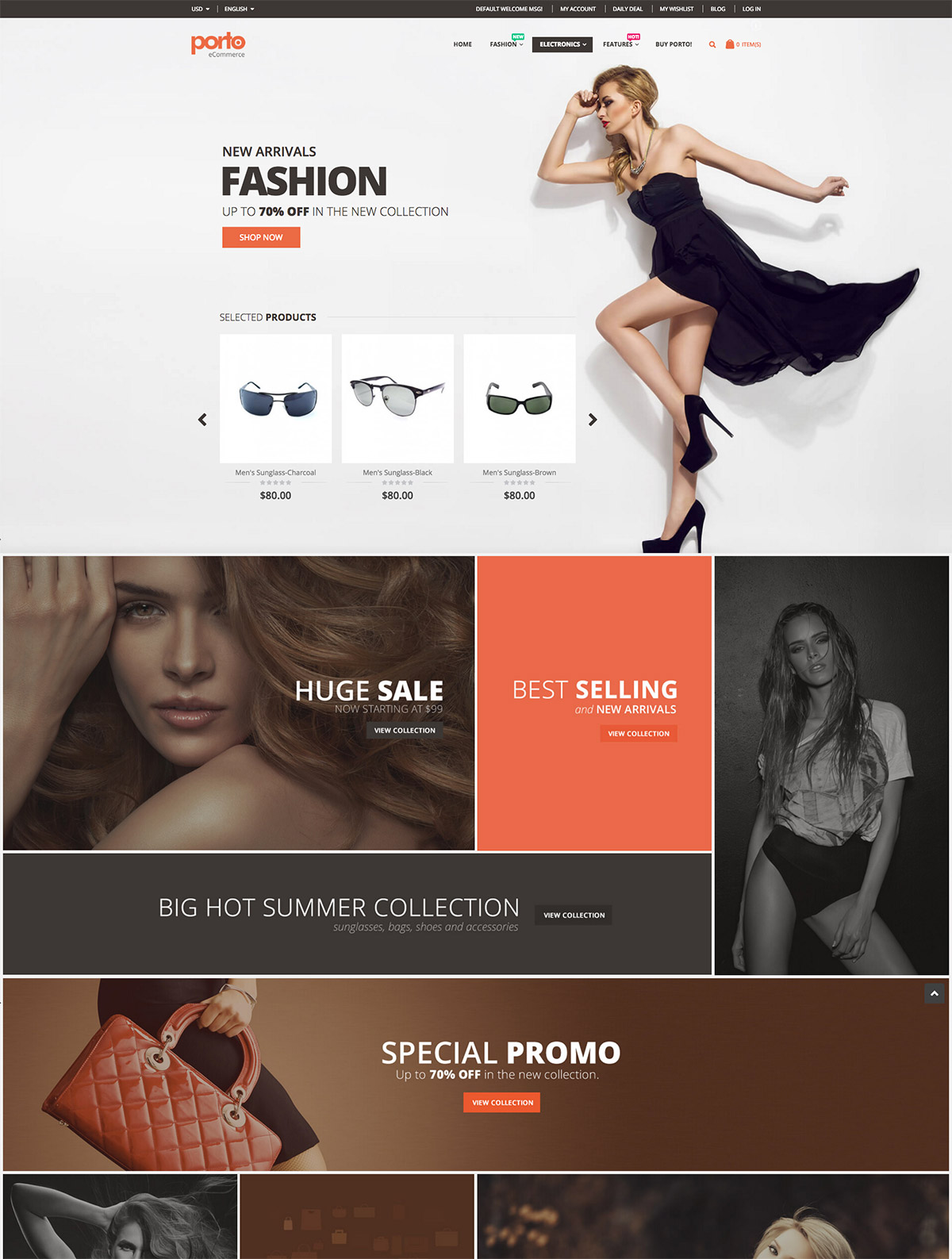ultimate magento theme