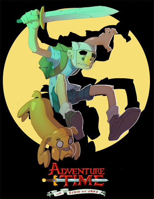 Adventure time..