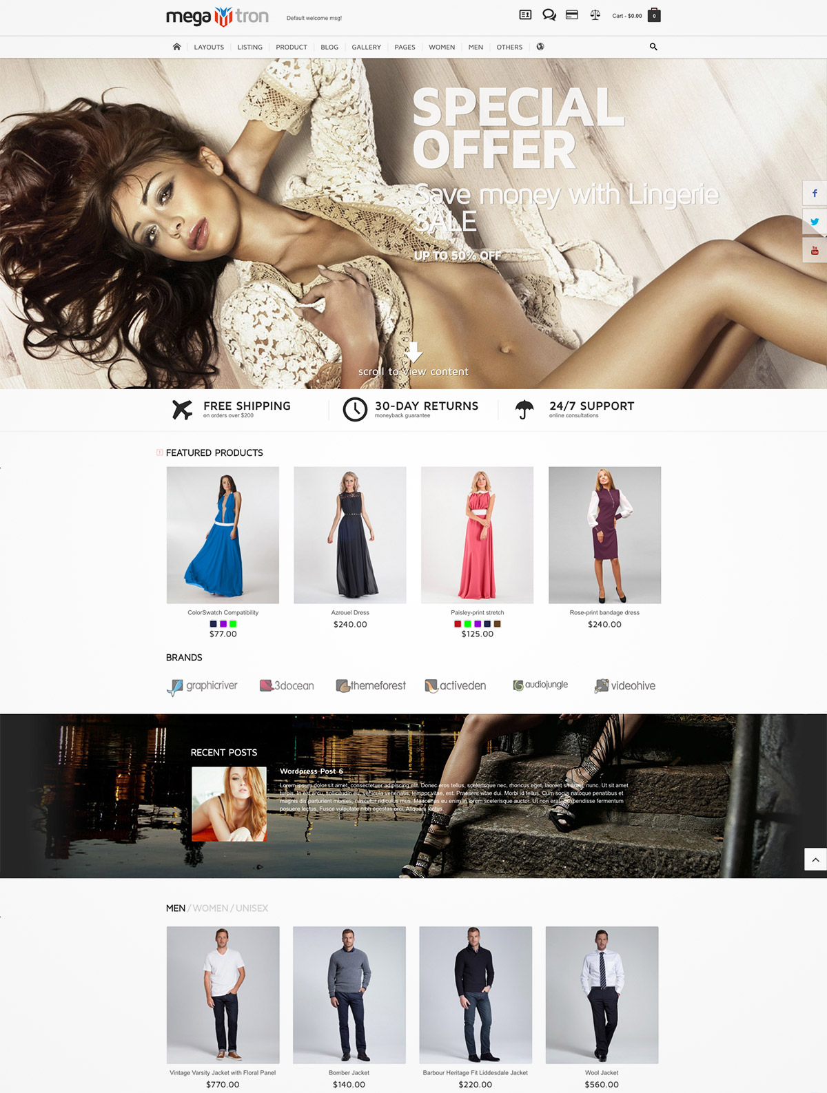 flexible magento themes