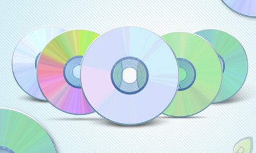 CD – DVD Icons