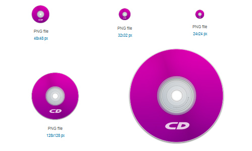 CD Purple Icon