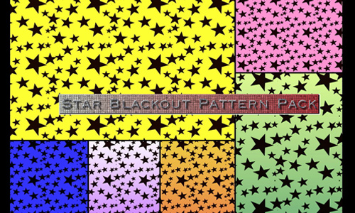 Star BlackOut Pattern
