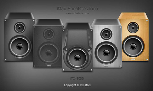 iMax Speakers Icons