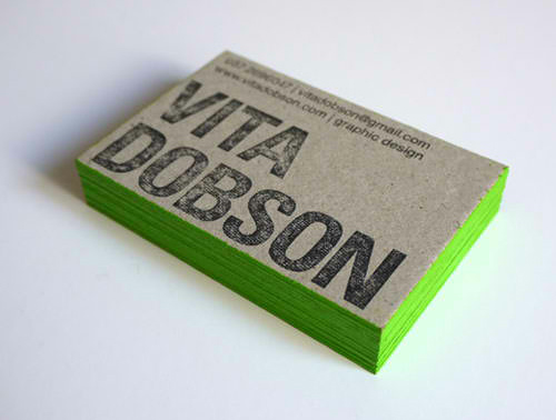 Business Card for: Vita Dobson