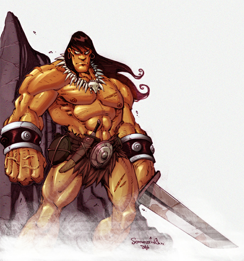 Conan in Colour