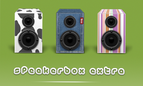 Speaker Box Extra