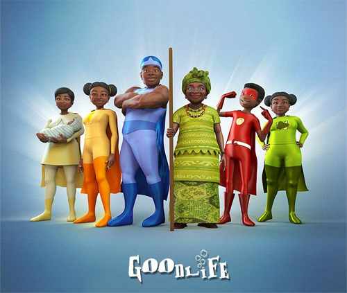 Making of Goodlife Food Superhero's
