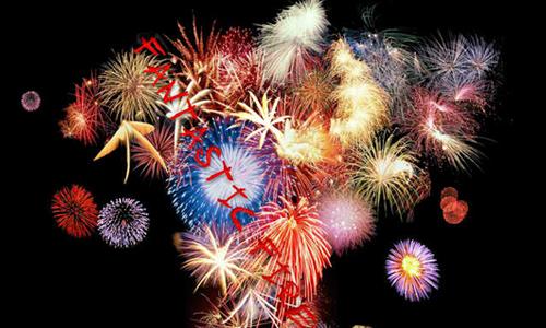 Fantastic Fireworks BrushSet