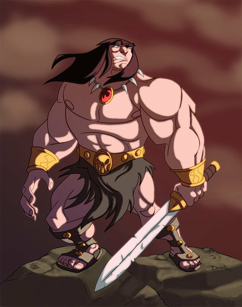 dfridolfs Conan colored