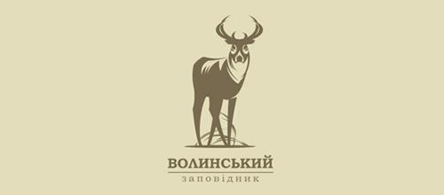 Ecological reserve. Park logo