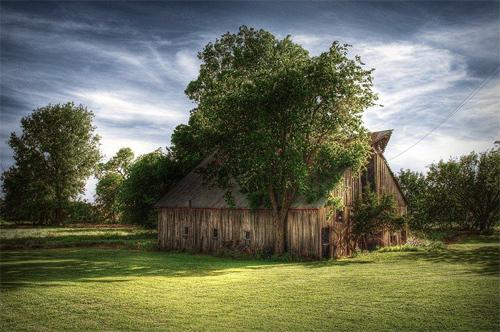 Oklahoma Barn