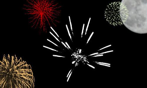 hi res fireworks brush