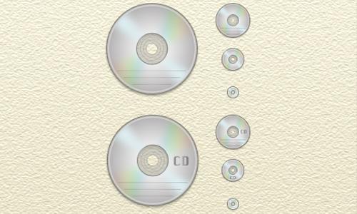 CD DVD Icons