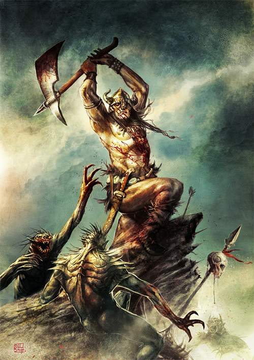 Conan for ImagineFX issue 61