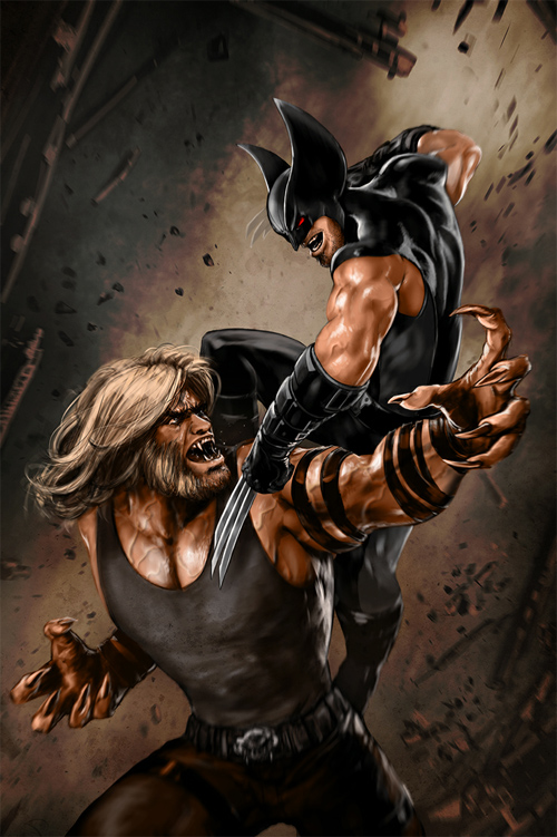 Logan vs. Sabretooth