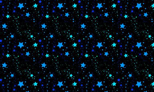 Starry Blue
