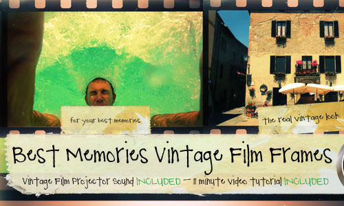 Best Memories Vintage Film Frames