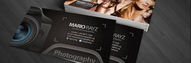 Tips in Designing Business Card for Photography