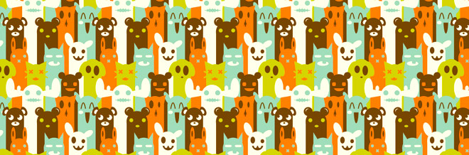 30+ Fun and Creative Character Pattern Designs