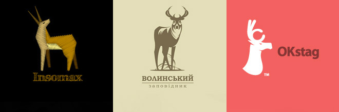30 Cool Designs of Deer Logo