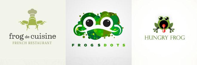 40 Impressive Frog Logo Designs