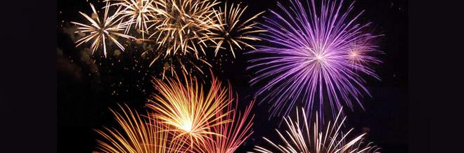 25 Free Dazzling Photoshop Fireworks Brushes